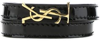 Saint Laurent Opyum Monogram Double Wrap Bracelet