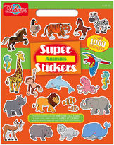 Asstd National Brand Super Animals Stickers Activity Book