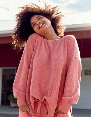 aerie Cozy Good Vibes Oversized Sweatshirt