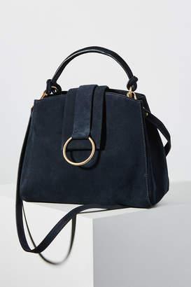 Anthropologie Samara Mini Leather Tote Bag