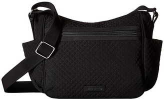 Vera Bradley On the Go Crossbody (Classic Black) Cross Body Handbags