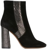L'Autre Chose 'Tronchetto' boots - women - Calf Leather/Leather/Suede/rubber - 36