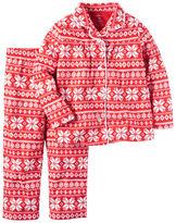 Carter's 2-Piece Fleece Christmas PJs