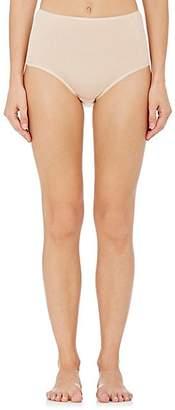 Hanro Women's Cotton Seamless High-Waist Briefs - Nudeflesh