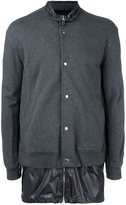 3.1 Phillip Lim trompe l'oeil track jacket - men - Cotton/Nylon - S