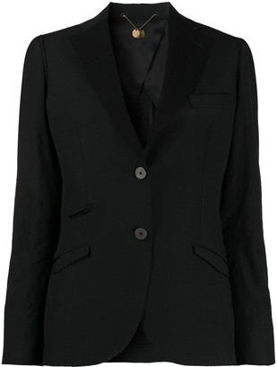 Maurizio Miri Fitted Single Breasted Blazer
