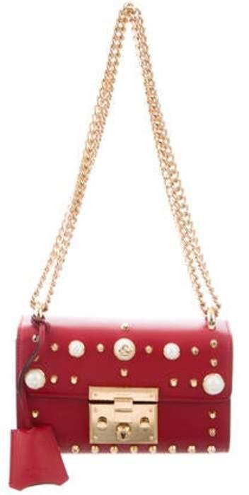 8f513fb8c6 Small Studded Padlock Bag gold Small Studded Padlock Bag