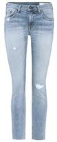 Rag & Bone Dre mid-rise cropped jeans