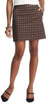 LOFT Tall Floral Jacquard Shift Skirt