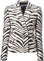 Ungaro zebra print jacket