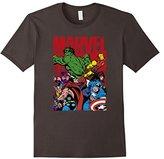 Marvel Avengers Team Graphic T-Shirt