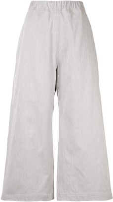 Sofie D'hoore Wide Leg Cropped Trousers