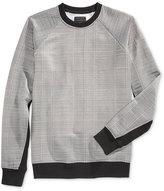 GUESS Men's Reeves Jacquard Sweatshirt