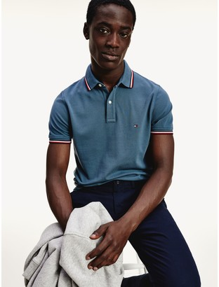 Tommy Hilfiger Slim Fit Tipped Pique Polo