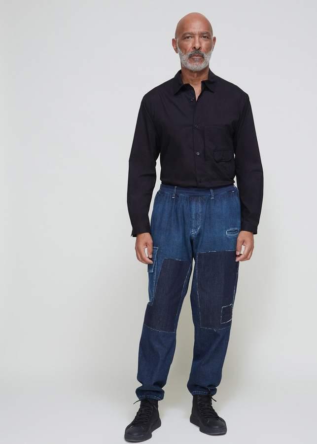 Yohji Yamamoto Patchwork Denim Jean