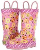 Western Chief Limited Edition Ladybug Garden Rain Boot Girls Shoes