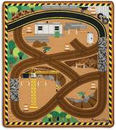 Melissa & Doug Construction Truck Rug - Ages 3+