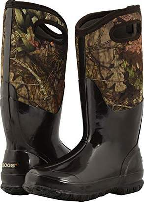 Bogs Men's Classic Mid Waterproof Insulated Rubber Neoprene Snow Rain Boot