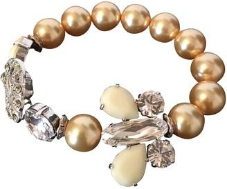 Reminiscence Beige Pearls Bracelets