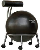 Zipcode Design Lesly High-Back Exercise Ball Chair