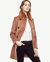 Ann Taylor Tall Luxe Collar Coat