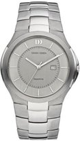 Danish Design Men's 40mm Silver-Tone Titanium Bracelet & Case S. Sapphire Quartz Dial Watch IQ63Q957