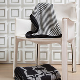 Kelly Wearstler Fractured Luxe Throw - Black White