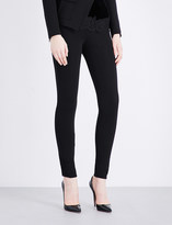 Givenchy Skinny mid-rise stretch-crepe leggings