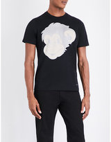 Ps By Paul Smith Monkey-print Cotton-jersey T-shirt