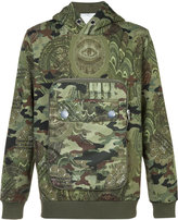 Givenchy camouflage hooded sweatshirt - men - Cotton - M