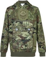 Givenchy camouflage hooded sweatshirt