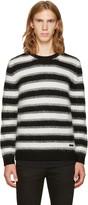 Burberry Black Stockley Punk Sweater
