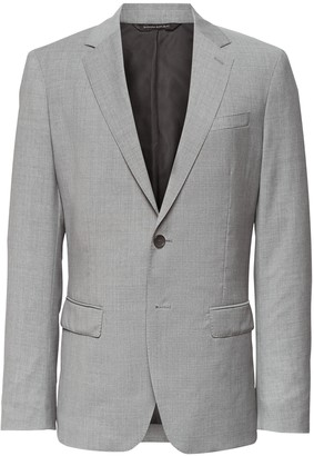 Banana Republic Slim Italian Wool Suit Jacket
