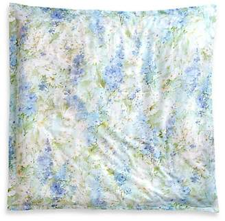Peter Reed Watercolor Lilies Egyptian Cotton Euro Sham