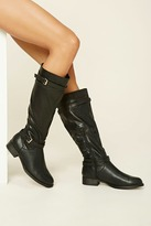 Forever 21 Faux Leather Tall Boots