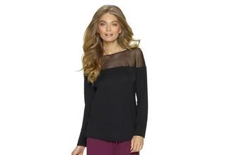 Felina Women's Asscher Long Sleeve Top
