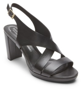 Rockport Women's Total Motion Ivy Cross Sling Sandals Women's Shoes