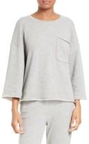 ATM Anthony Thomas Melillo Women's Pocket Sweatshirt