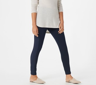 Susan Graver Petite Weekend Premium Stretch Leggings