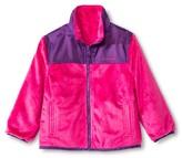 Weathertamer Weather Tamer Toddler Girls' Reversible Fleece Jacket - Pink