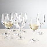 Crate & Barrel Set of 8 Viv White Wine Glasses