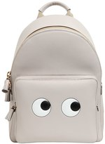 Anya Hindmarch Mini Eyes Leather Backpack