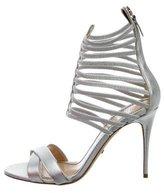 Jerome C. Rousseau Metallic Sacli Cage Sandals w/ Tags