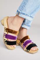 Rachel Comey Camus Velvet Clog Sandals
