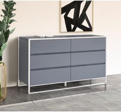 Thumbnail for your product : VIG Furniture Jolene 6 Drawer Double Dresser