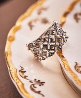 Vera & Co. Women's Rings - Marcasite & Sterling Silver Stardust Ring