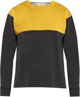 Marni Colour-block crew-neck sweatshirt
