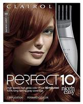 Clairol Perfect 10 By Nice 'N Easy Hair Color Kit, 1 Count, Color, Includes Comb Applicator, Lasts Up To 60 Days