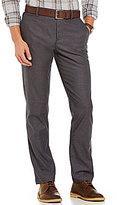 Original Penguin Slim-Fit Flat-Front Herringbone Tech Pants