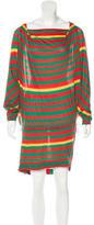 Bernhard Willhelm Striped Mini Dress